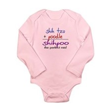 Shihpoo PERFECT MIX Long Sleeve Infant Bodysuit