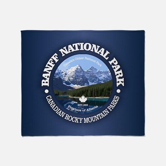 Banff National Park Throw Blanket