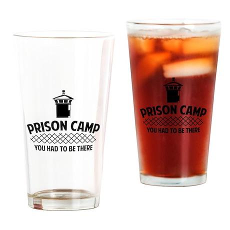 Prison Camp Drinking Glass