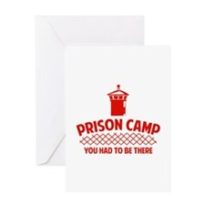 Prison Camp Greeting Card