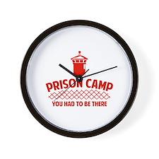 Prison Camp Wall Clock