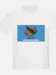 Oklahoma State Flag Kids' T-Shirt