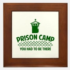 Prison Camp Framed Tile