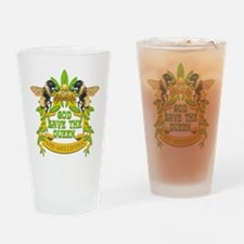 God Save the Queen Drinking Glass