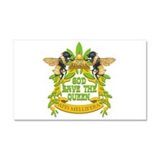 God Save the Queen Car Magnet 20 x 12