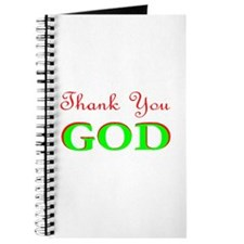 THANK YOU GOD 2 Journal