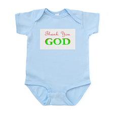 THANK YOU GOD 2 Infant Creeper