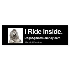Bumper Sticker (Poodle)