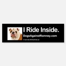 Bumper Sticker (Bulldog)