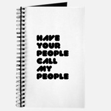 Call My People Journal