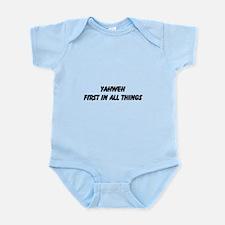 Unique Yahweh Infant Bodysuit