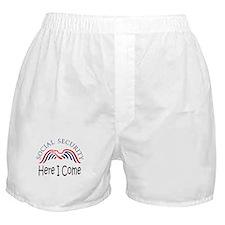 Unique Retirement Boxer Shorts