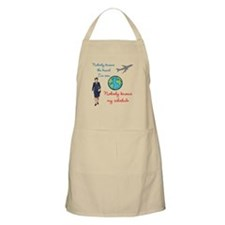 Nobody Knows The Travel I've Seen Apron