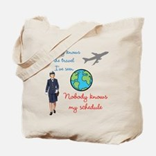 Nobody Knows The Travel I've Seen Tote Bag