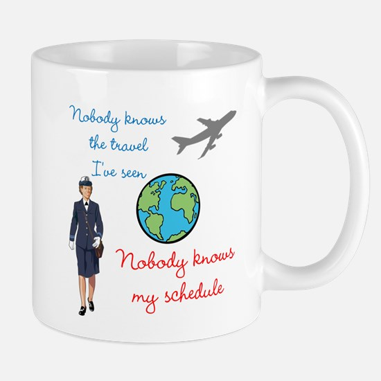 Nobody Knows The Travel I've Seen Mug