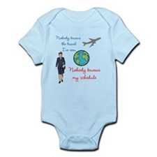 Nobody Knows The Travel I've Seen Infant Bodysuit