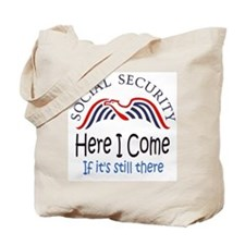 Cute Social security Tote Bag
