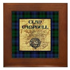 Clan Campbell Framed Tile