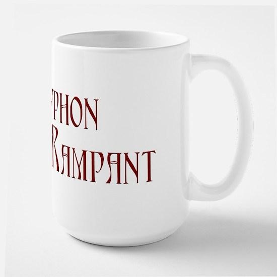 Gryphon Rampant Large Mug