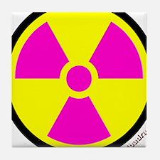 Nuclear numpties Tile Coaster