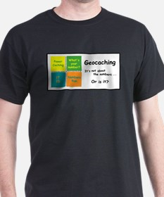 Geocaching is not about the n T-Shirt