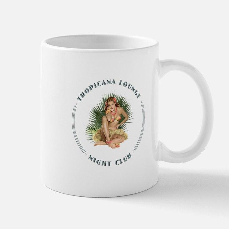 Tropicana Lounge Girl 1 Mug
