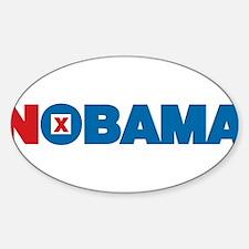 NOBAMA Sticker (Oval)