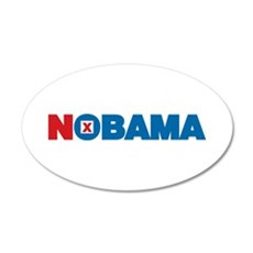 NOBAMA 22x14 Oval Wall Peel