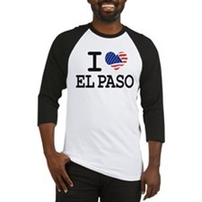 I LOVE EL PASO Baseball Jersey