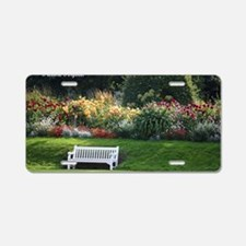 Garden Aluminum License Plate