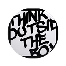 Think Outside the Box Ornament (Round)