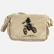 Rather be playing in the dirt Messenger Bag