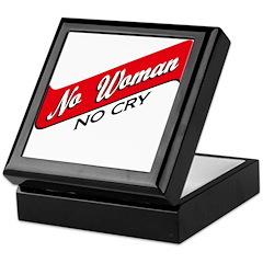 No Woman No Cry Keepsake Box