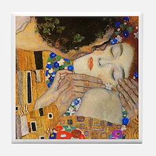 Klimt - The Kiss Tile Coaster