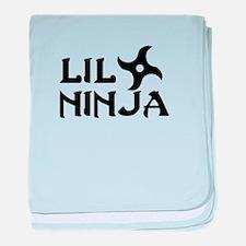 Cute Ninjas baby blanket