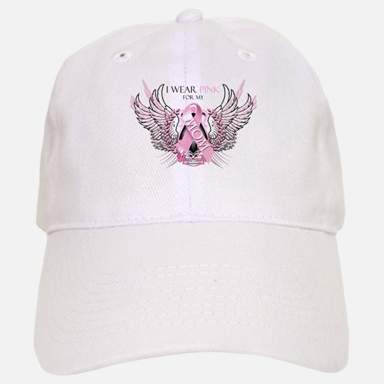 I Wear Pink for my Mom Hat
