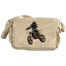 Playing in the dirt Messenger Bag