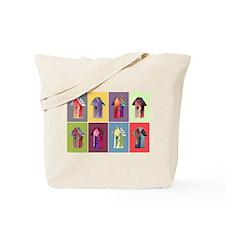 Birdhouse Condos Tote Bag
