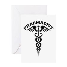 Pharmacist Caduceus Greeting Card