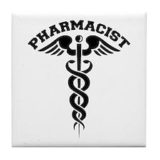Pharmacist Caduceus Tile Coaster