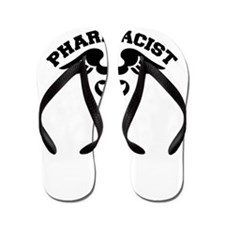 Pharmacist Caduceus Flip Flops