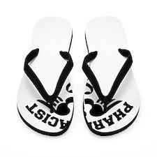 Pharmacist Caduceus Flip Flops