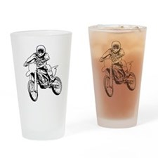 Unique Dirt bike racing Drinking Glass