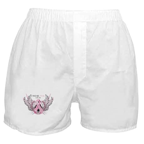 I Wear Pink for my Daughter Boxer Shorts