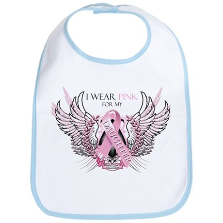I Wear Pink for my Daughter Bib