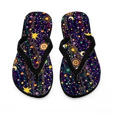 Mardi Gras Gypsy Flip Flops