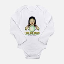 Mardi Gras Gypsy Long Sleeve Infant Bodysuit