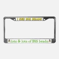 Mardi Gras Gypsy License Plate Frame
