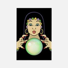 Mardi Gras Gypsy Rectangle Magnet