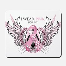 I Wear Pink for my Cousin Mousepad